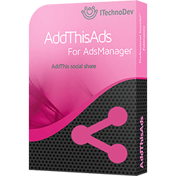 Social AddThis for AdsManager