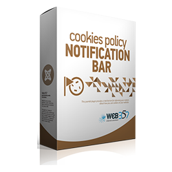 Cookies Policy Notification Bar Pro